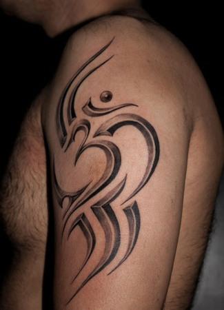 3d Om Tattoo Design