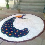 9 Best Peacock Rangoli Designs With Images