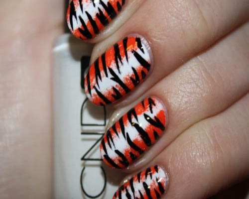 Abstract Zebra Print