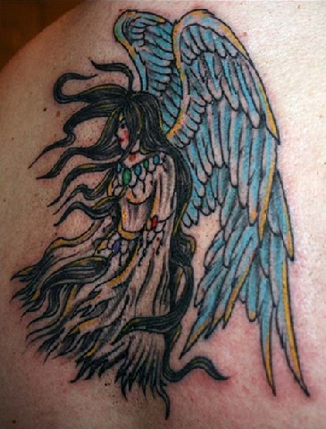 angel-body-tattoos-art-shoulders