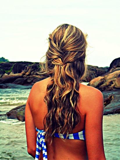 Beach hairstyles 8