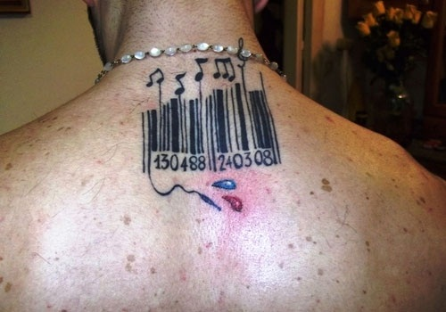 Barcode Tattoo: 15 Best Barcode Tattoo Designs With Meanings