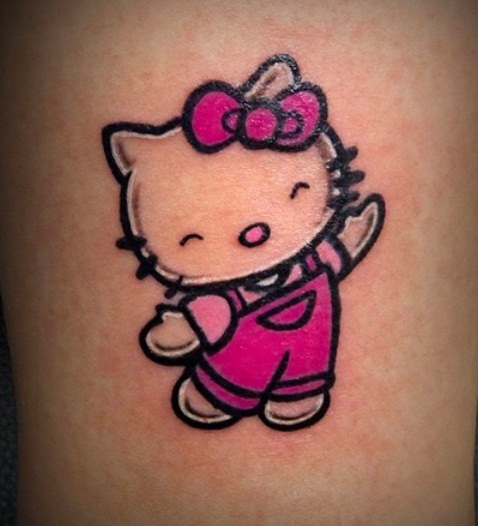 15 Different Cartoon Character Tattoo Designs With Meanings