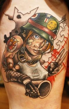 Best Cartoon Tattoo Designs With Meanings14