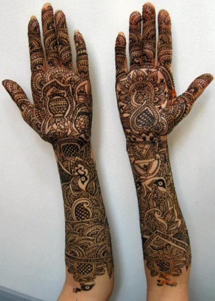 Latest Full Hand Mehndi Designs