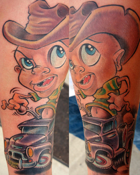 Cartoon Car Tattoos