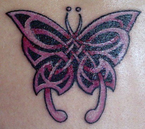 Celtic Butterfly Tattoos