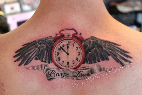 Carpe Diem Tattoo Designs 5