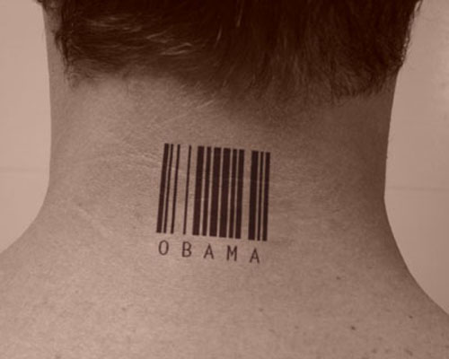Code 3 of 9 Barcode Tattoos