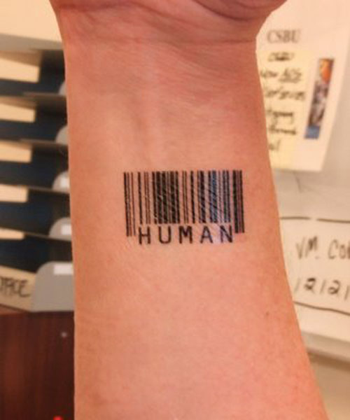 Describing Barcode Tattoos