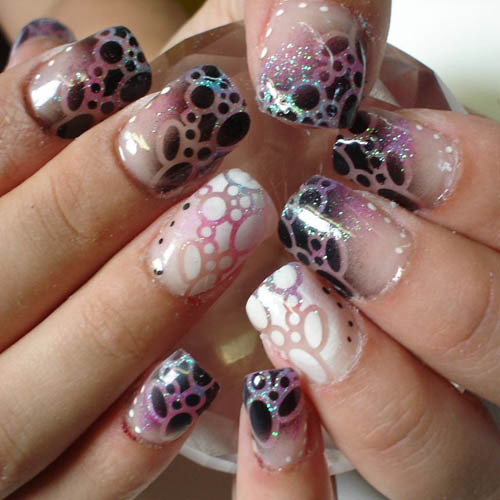 9 best airbrush nail art designs with pictures styles at life airbrush nail art prinsesfo Images