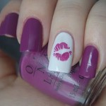 9 Best Kiss Nail Art Designs with Pictures