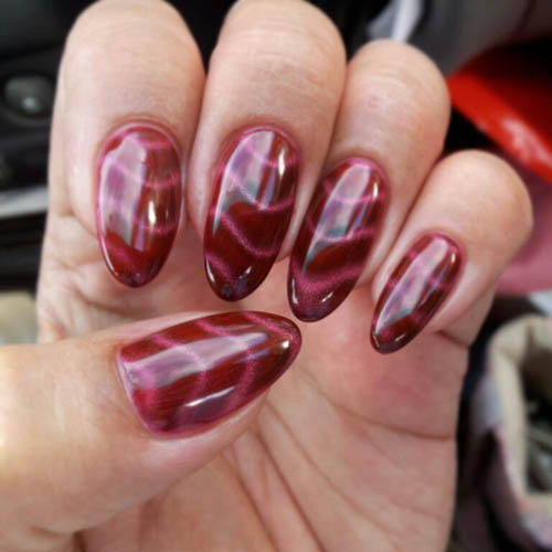 9 best airbrush nail art designs with pictures styles at life electrifying wave design prinsesfo Images