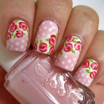 9 Simple Flower Nail Art Designs For Beginners