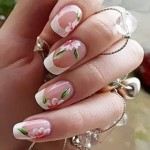 9 Simple and Easy Flower Nail Art Designs for Beginners