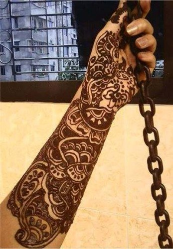 Full Hand Mehndi Designs 11