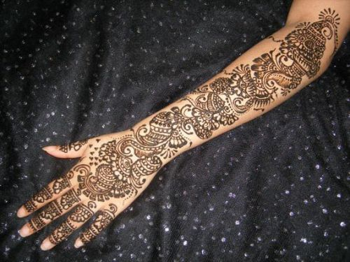 Full Hand Mehndi Designs 14