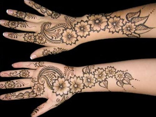 Full Hand Mehndi Designs 15