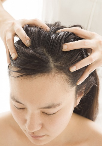 Head Massage FOR hair growth