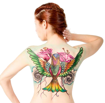 Hybrid Body Airbrush Tattoos