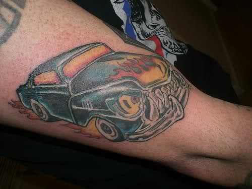 Monster Car Tattoos