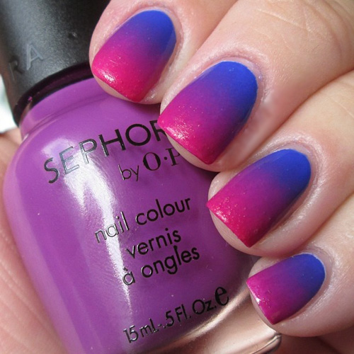 Easy nail art ombre