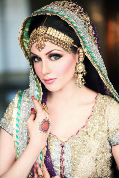 Pakistani Bridal Face Makeup