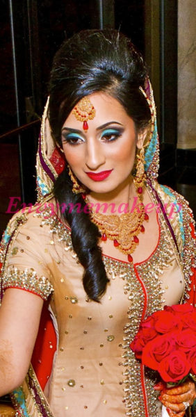 Pakistani Bridal Lips Makeup