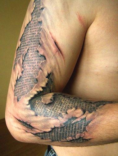 Paper Tattoo designs