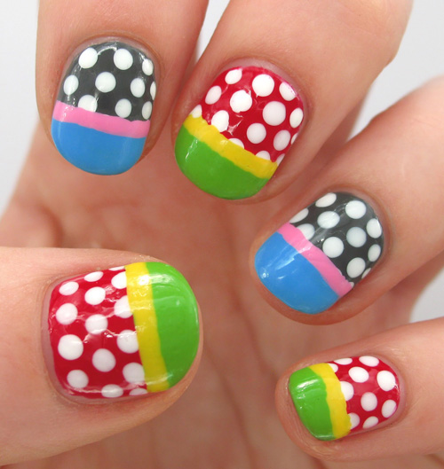 9 Simple And Easy Nail Art Designs For Kids Styles At Life