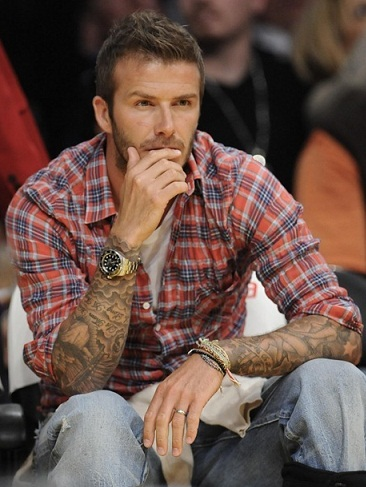 15 Stylish David Beckham Tattoo Designs