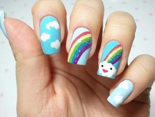 nail art for kids - 9 Simple And Easy Nail Art Designs For Kids Styles At Life