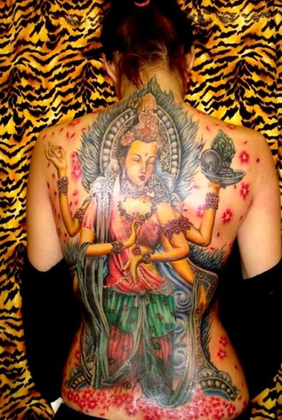 Religious Body Art Tattoos