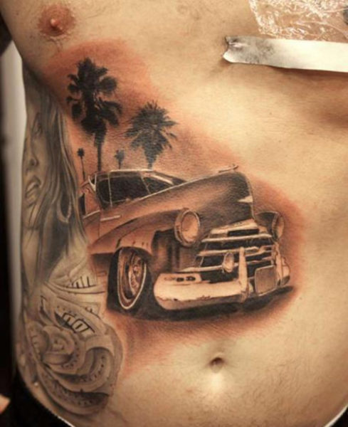 Scenery Car Tattoos
