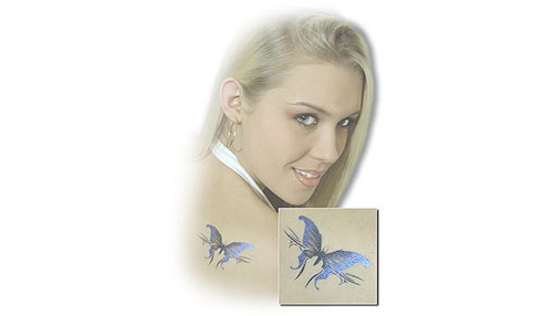 Shimmer Airbrush Tattoo