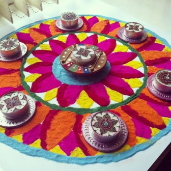 Simple Rangoli Designs For Festival Occasion