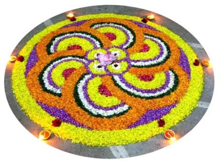 Diwali Kolam Rangoli Design
