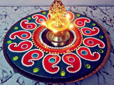 Wonderful Rangoli Design For All Occasions