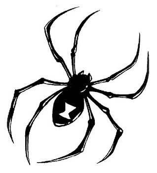 2cb42a83f spider tattoo designs. Spider tattoos are considered a trendy design ...