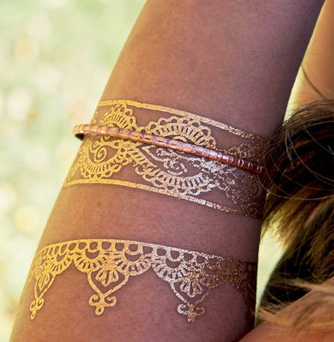Temporary Jewelry Airbrush Tattoo Designs
