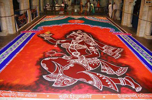 Best free hand rangoli designs 5