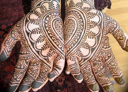 full hand mehandi designs