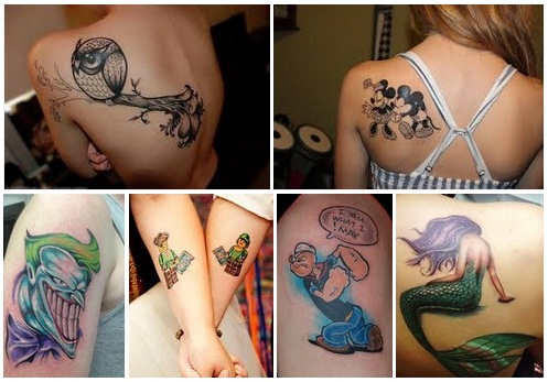 tattoo-cartoon-art-for-men-and-women
