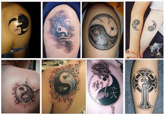 yin yang tattoo designs