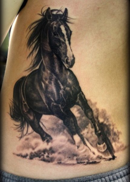 15 Simple Traditional Horse Tattoo Designs With Meanings