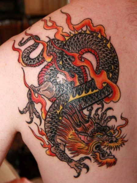 15 Stunning Dragon Tattoo Designs Which Are Sure To Impress You