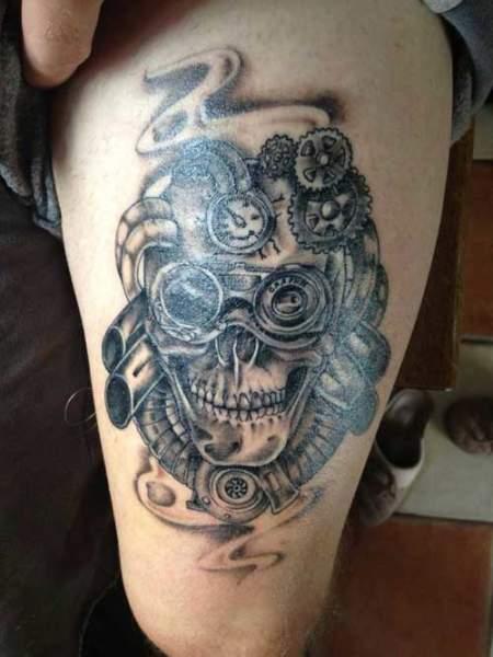 skull tattoos designs for men