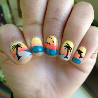 100 beautiful and best nail art designs for beginners at home a prinsesfo Choice Image