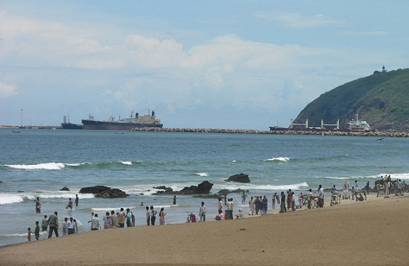 Beaches in Andhra Pradesh-Ramakrishna Beach