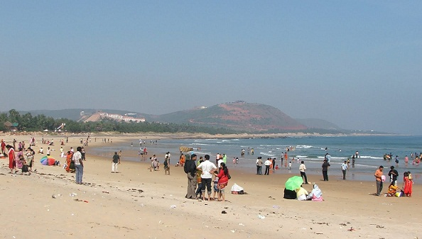 Beaches in Andhra Pradesh-Rishikonda Beach